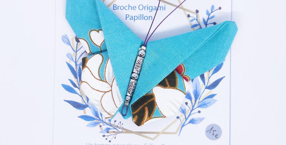 Broche origami papillon - ref4