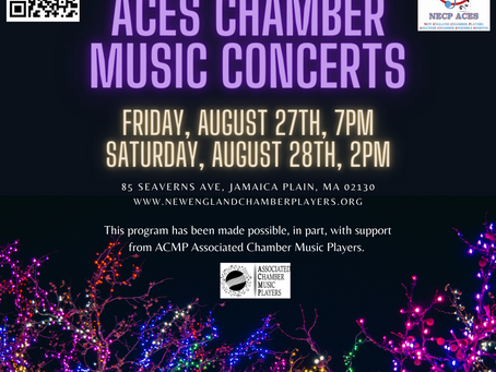 NECP  and the Associated  Chamber Music Players Present