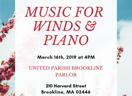 Music for Winds and Piano