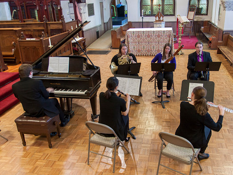 Romantic Music for Winds- NECP returns to Plymouth Public Library