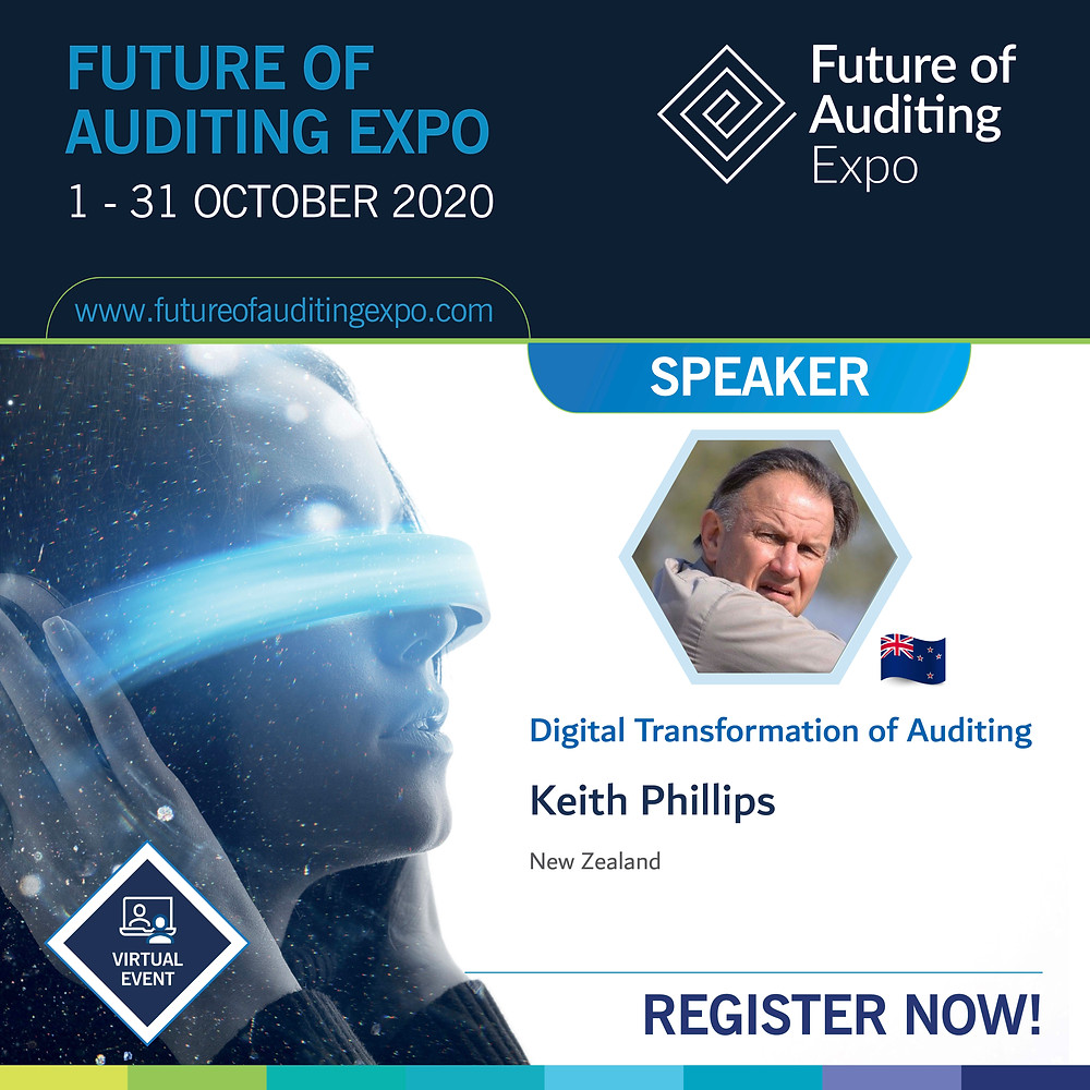 Future Of Auditing Expo - Speaker Keith Phillips