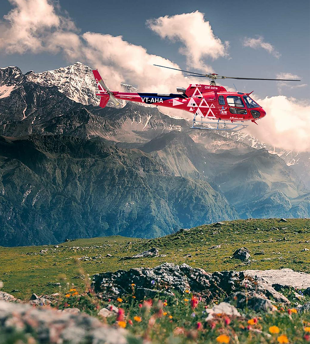 Air Himalayas - Helicopter Charter servi