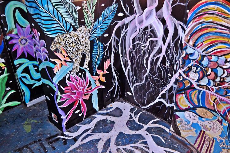 """The jungle"" Mural 59 Rivoli / 2017"