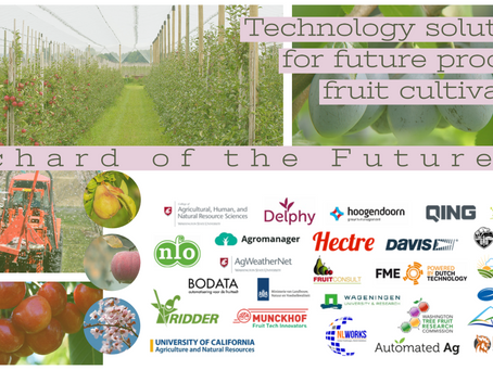 CA, WA, and Netherlands Partner up to form 'Orchard of the Future'
