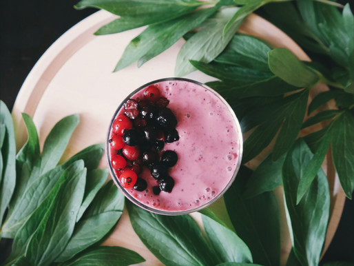 Raspberry Hemp Smoothie