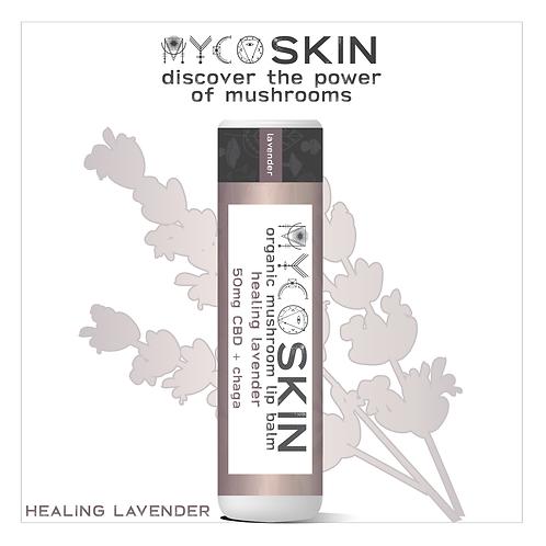 Healing Lavender 50mg CBD + Mushroom Lip Balm, Wholesale