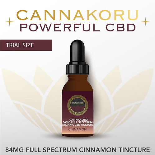 Wholesale 84mg Organic Cinnamon Extra Strength Full Spectrum CBD Oil