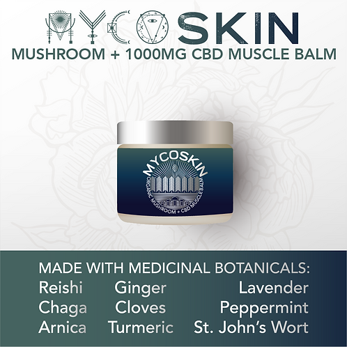 MycoSkin Extra Strength 1000mg CBD Muscle Balm
