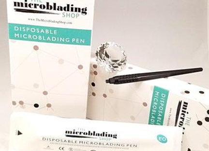 Disposable Microblading Tool 14 Curved Blade