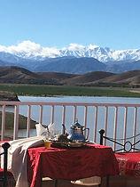 #Restaurant Ô Lac de Marrakech et l'Atla