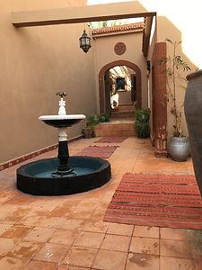 #Restaurant Ô Lac de Marrakech Côté Aube