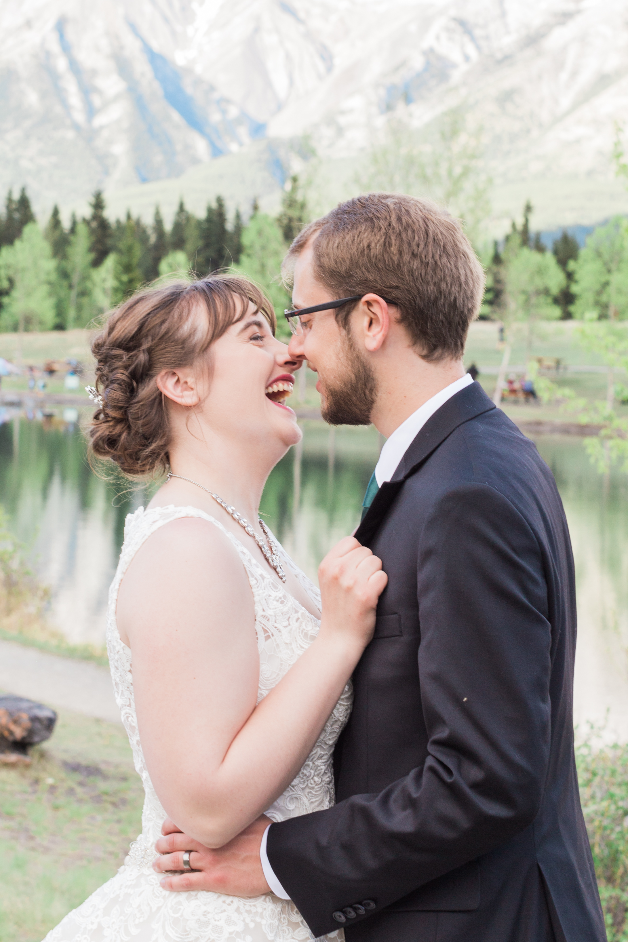 Canmore Wedding Photographer Quarry Lake