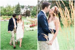 Calgary Wedding Photographer DIY Backyard Intimate Bohemian Wedding - 36