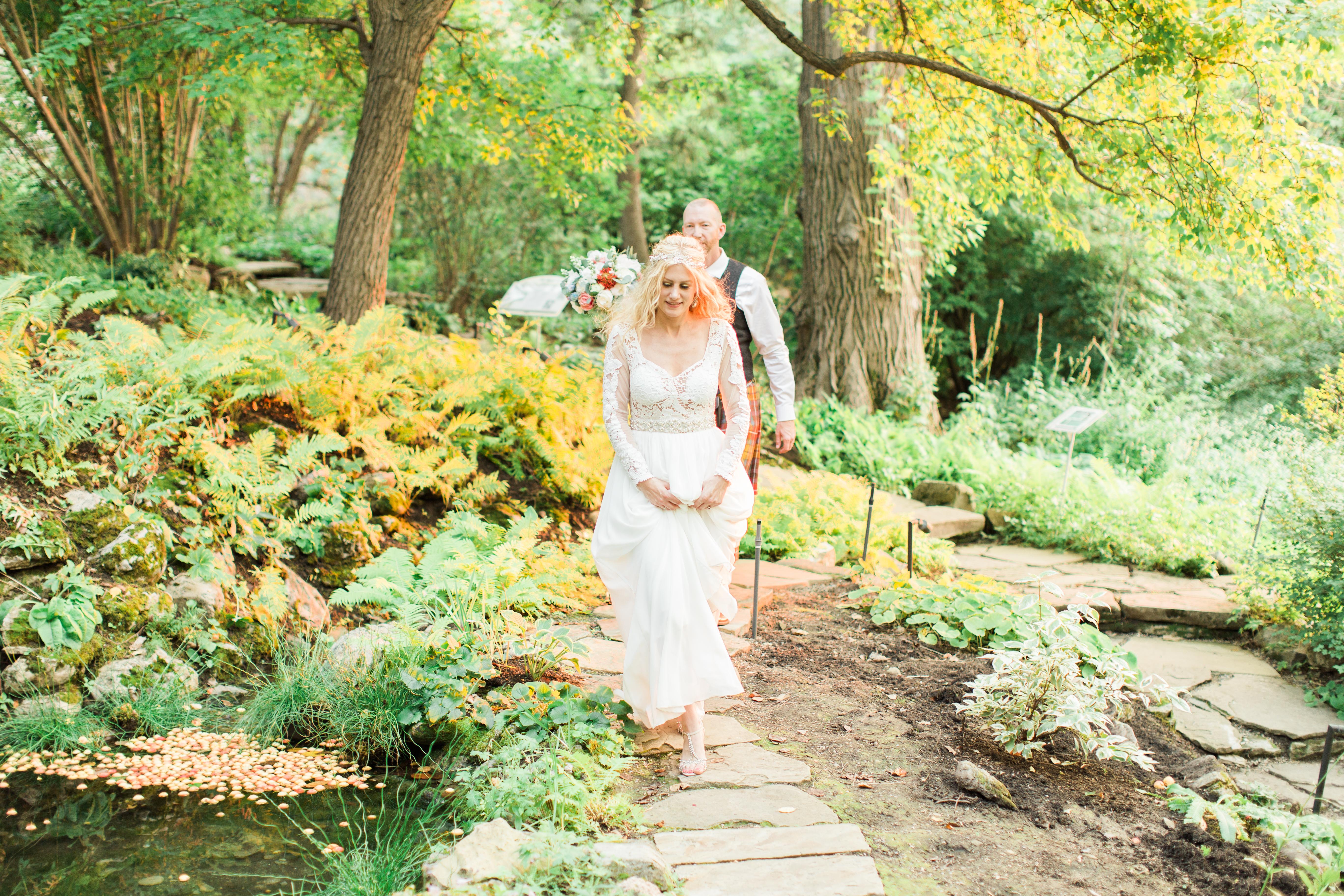Calgary Wedding Photographer Reader Rock Garden Cafe Golden Light Light Airy Fairy - 25