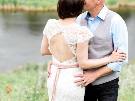 Calgary Wedding Photographer: 15th Wedding Anniversary with Pretty Country/Rustic/Boho Theme - Amand