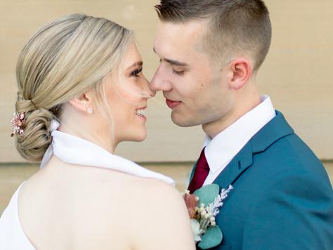 Edmonton Wedding Ceremony:  Sherwood Park and Alberta Legislature Building - Beth & Nathan