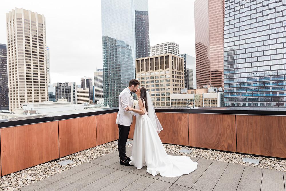 calgary wedding photographer la germaine rooftop