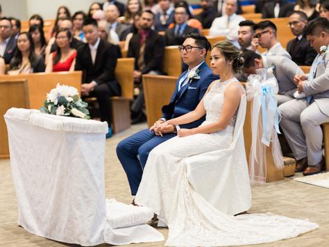 Calgary Wedding Photographer: St. Vincent Liem Parish & Silver Dragon - Kathy & Nan