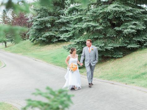 Calgary Wedding Photographer: St Peter's Catholic Church & Hamptons Golf Club - Meredith & J