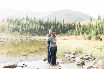 Kananaskis Rocky Mountain Engagement Photographer - 6.jpg