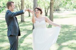 Calgary Wedding Photographer Four Points Sheraton Confederation Park Light Airy - 45