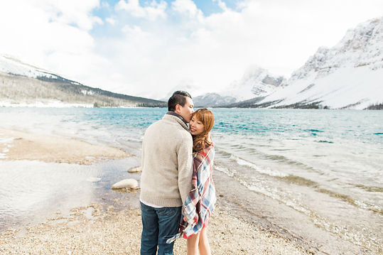 Lake Louise Wedding Photographer Winter