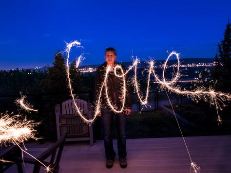 Calgary Wedding Photographer: Wedding Sparklers