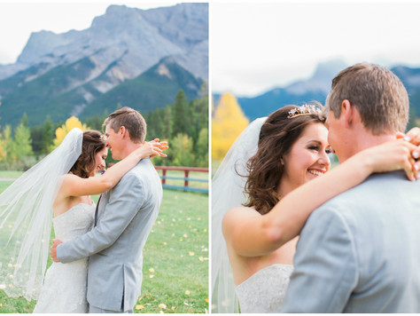 Canmore Wedding Photographer: Quarry Lake & Canmore Nordic Centre - Tiffany & Kevin