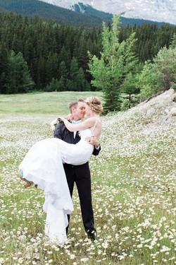 Banff Mountains Wedding Photographer