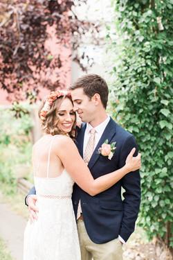 Calgary Wedding Photographer Intimate Backyard DIY Bohemian Wedding-1