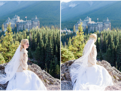 Calgary Wedding Photographer: Banff Tunnel Mountain Reservoir