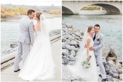 Calgary Wedding Photographer Classic Timeless Bride SAIT Memorial Bow River Riley Park Fur Coat - 78