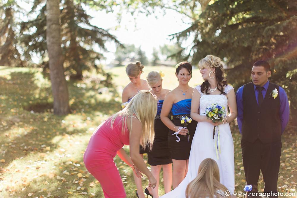 Fall Autumn Wedding Calgary