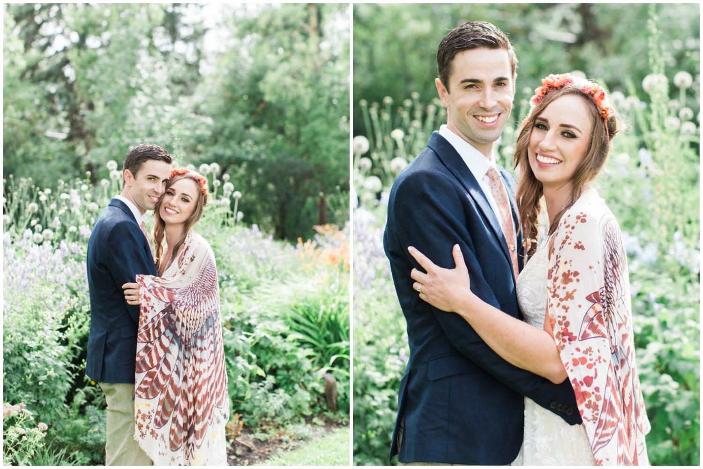 Calgary Wedding Photographer DIY Backyard Intimate Bohemian Wedding - 32