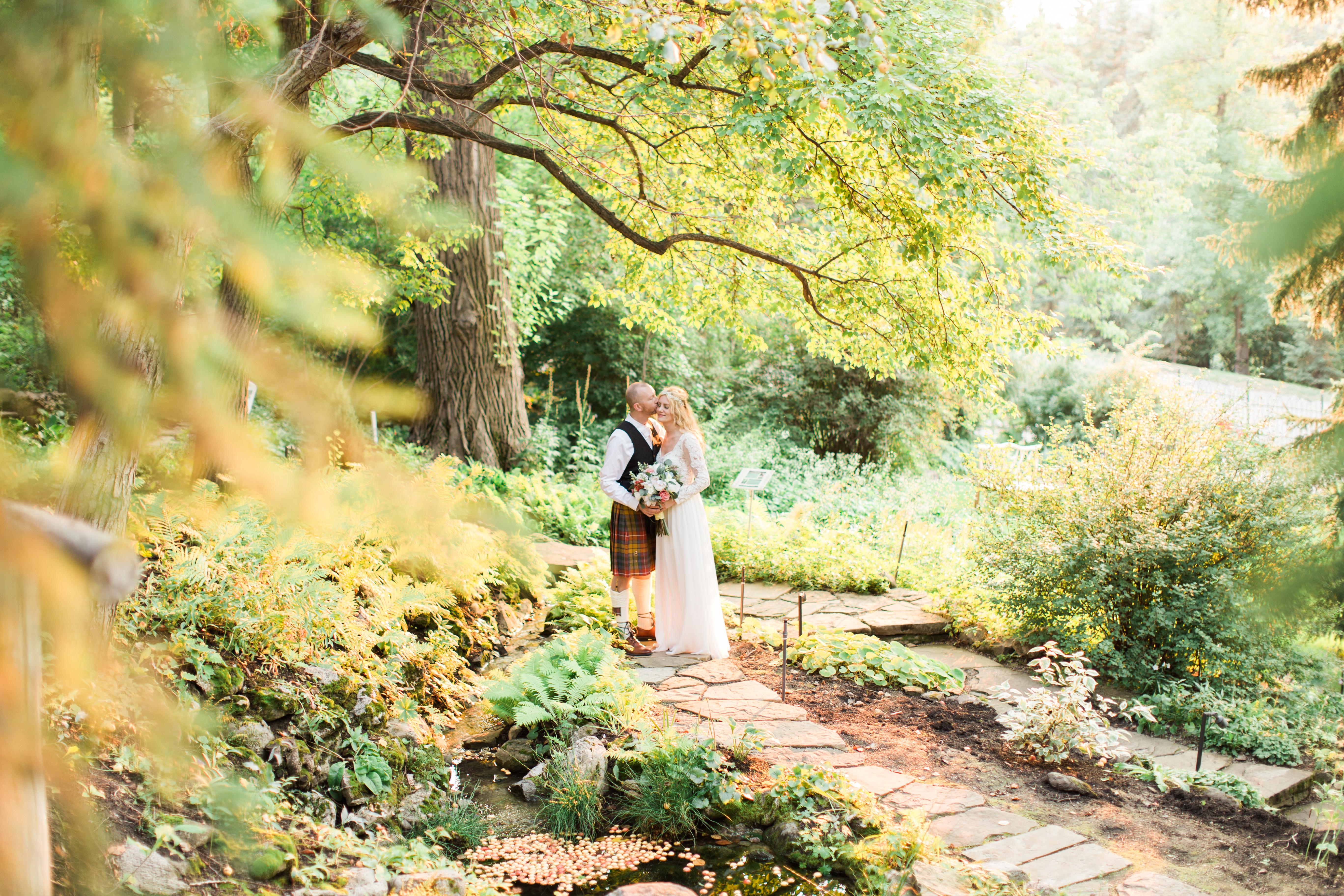 Calgary Wedding Photographer Reader Rock Garden Cafe Golden Light Light Airy Fairy - 22