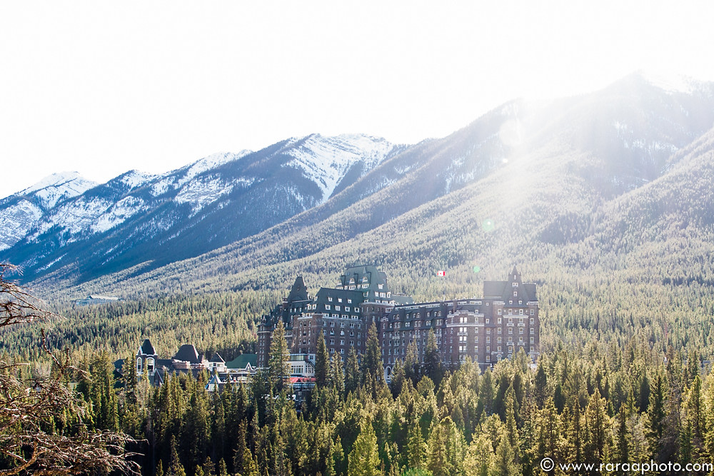 Fairmont Banff Springs Wedding