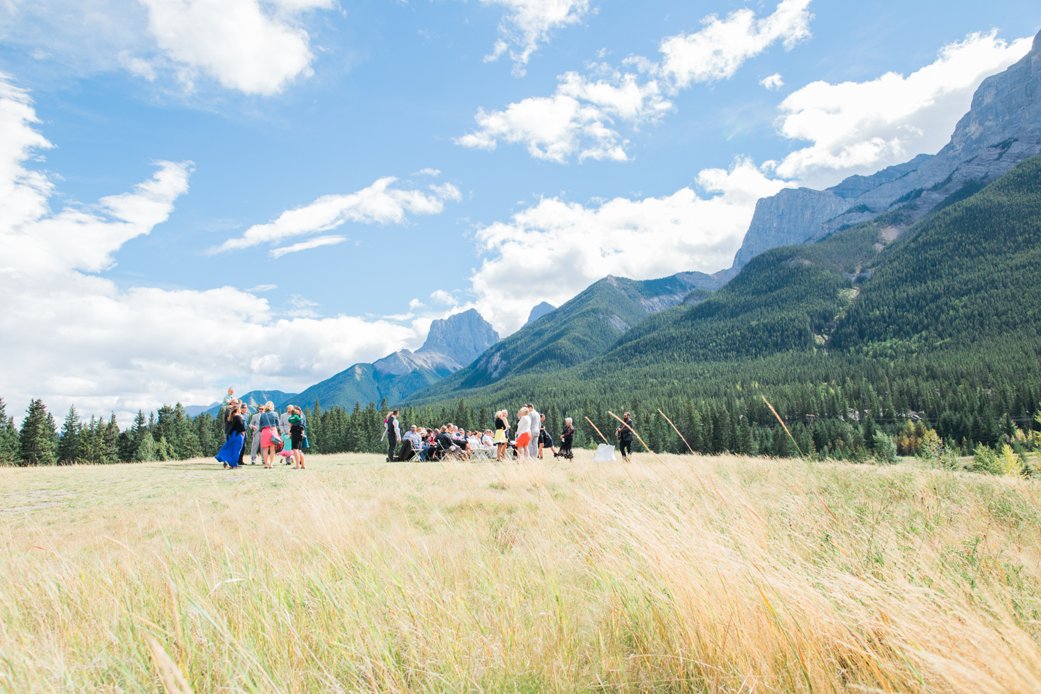 Canmore Wedding Photographer Quarry Lake Park Canmore Nordic Centre - 11