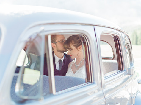 Canmore Wedding Photographer: Quarry Lake and A Bear & Bison Inn - Emily & Brandon