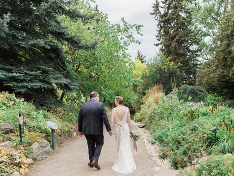 Calgary Wedding Photographer: Reader Rock Garden - Kim & Kevin
