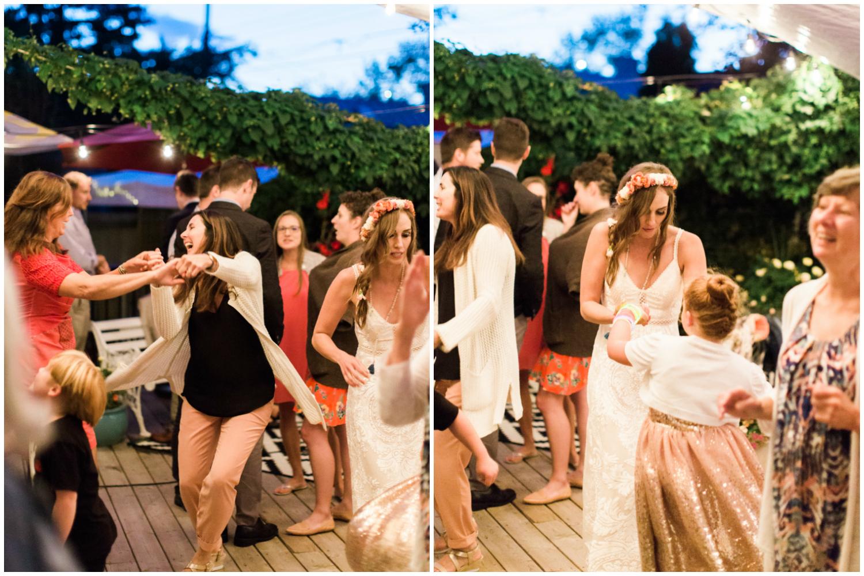 Calgary Wedding Photographer DIY Backyard Intimate Bohemian Wedding - 90