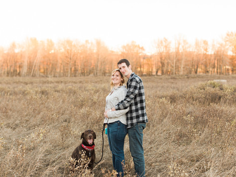 Calgary Engagement Photographer: Fish Creek Park - Steph & Tom