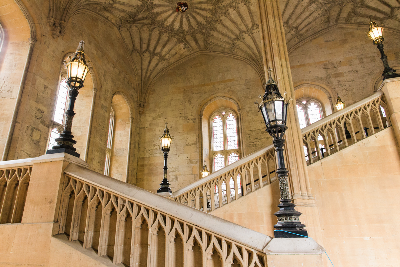 Oxford Stairs Harry Potter