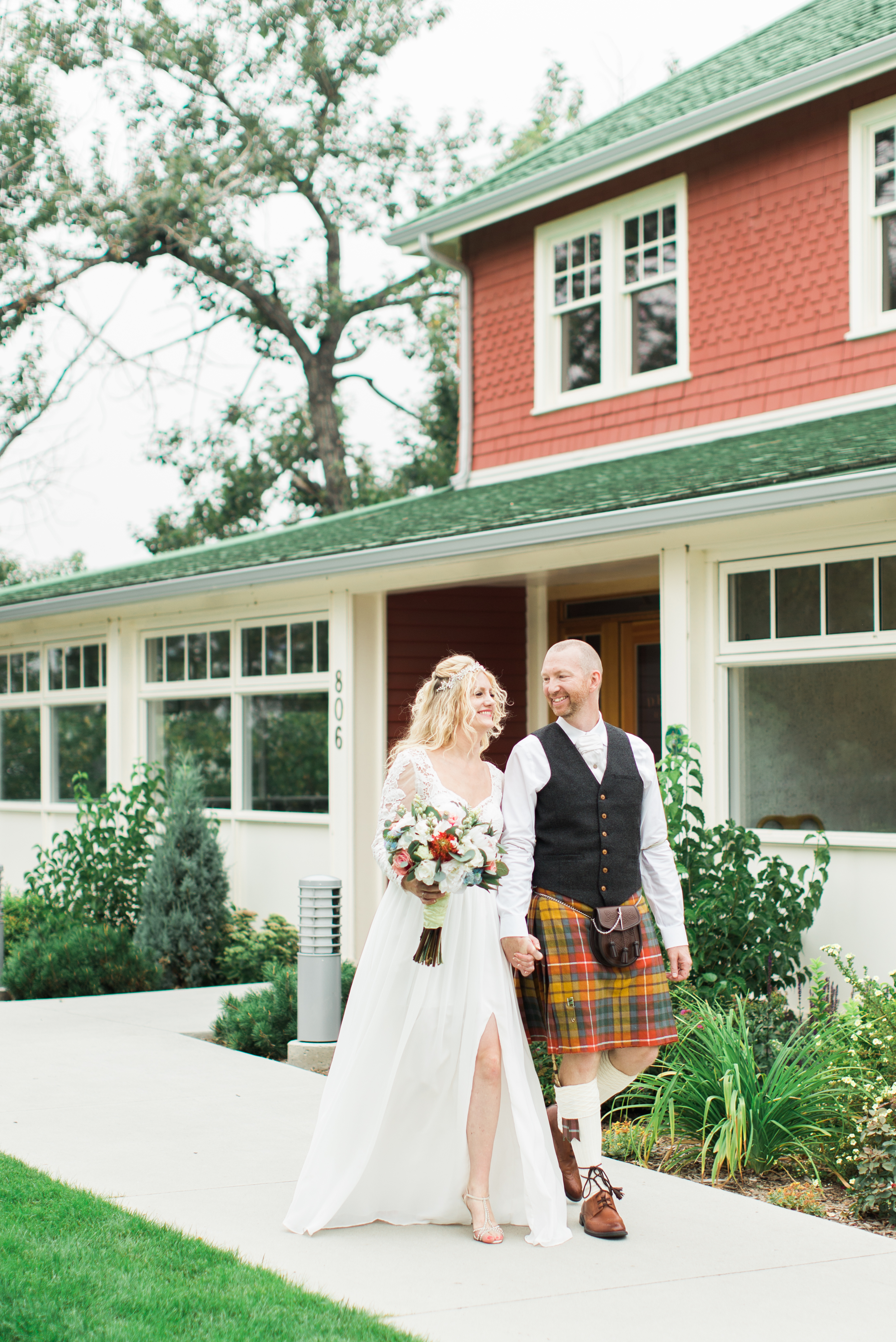Calgary Wedding Photographer Film Light Airy Deane House - 13