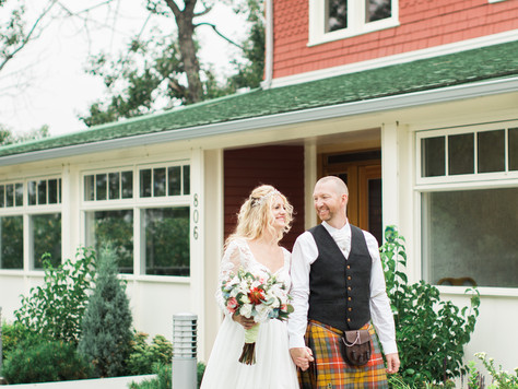 Calgary Wedding Photographer: Intimate Ceremony at Deane House - Julia & Leif