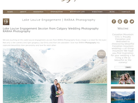 Featured on Canadian Mountain Chic