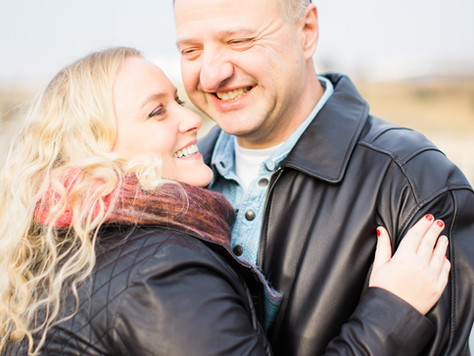 Calgary Wedding Photographer: Engagement Session at Pearce Estate Park - Amber & Mike