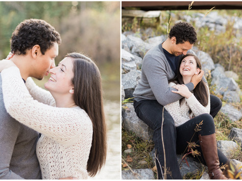 Calgary Engagement Photographer: Fish Creek Park - Ellen & Scott