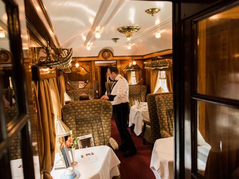 Calgary & Montreal Destination Wedding Photographer: Luxury Train Travel with Belmond (Orient Ex