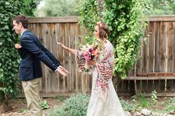 Calgary Wedding Photographer DIY Backyard Intimate Bohemian Wedding - 14
