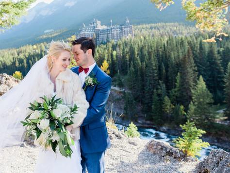 Banff Wedding Photographer: Tunnel Mountain Reservoir - Rhonda & Eric